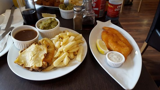 Leigh, UK: Green Lane Fish and Chip Restaurant