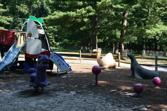 Silver Spring, MD: Backside of toddler area