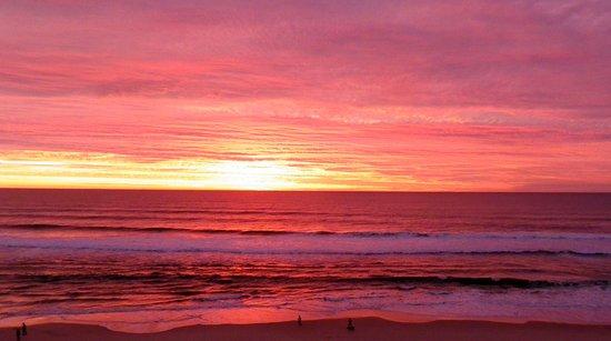 Mermaid Beach, Australie : Sunrise on our first morning
