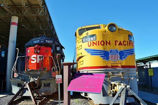 Union Station: Some of the train displays outside in the yards.