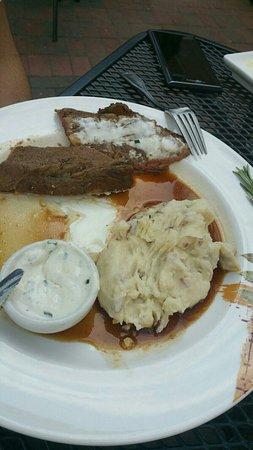 stake with potato picture of henrietta s table cambridge rh tripadvisor com au