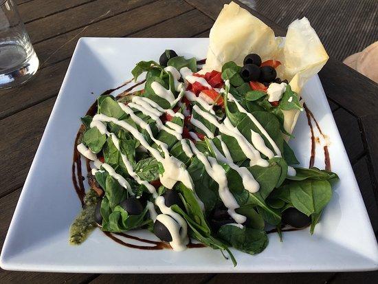 Pohara, Yeni Zelanda: Mediterranean Salad