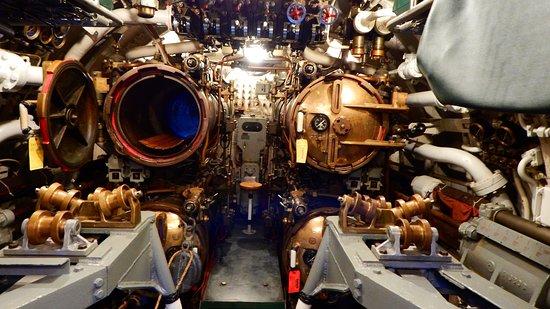 Manitowoc, WI: Aft torpedo room.
