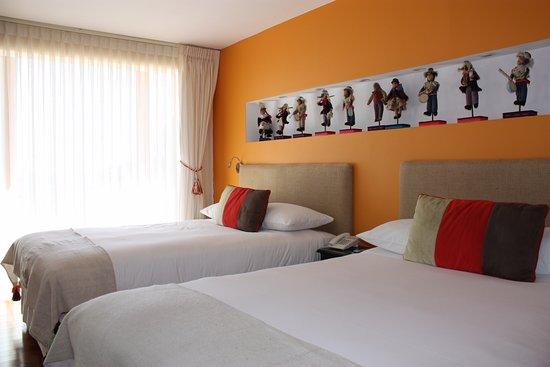 Hotel Rosario Lago Titicaca: Bett