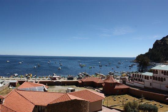 Hotel Rosario Lago Titicaca: Aussicht