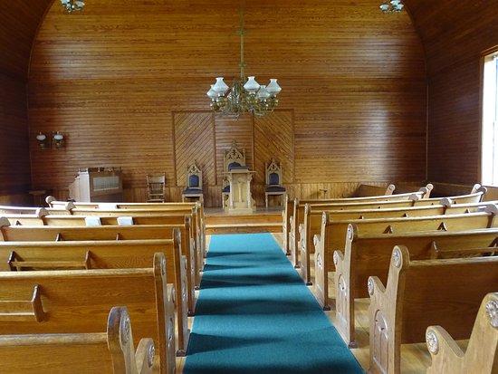 Plymouth, VT : Inside the church