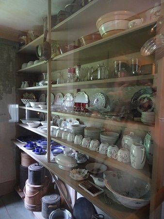 Plymouth, VT: The Pantry is full of family wares, thanks to a hoarder housekeeper.