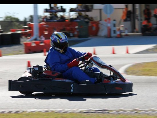Pimpama, Australien: This is one of the hire Karts