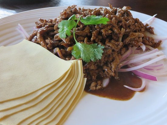 Mcfound(Qixing Road): Beef with onions and pancakes