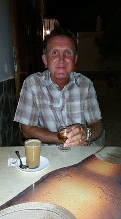Canar, Spain: Coffee and a night cap
