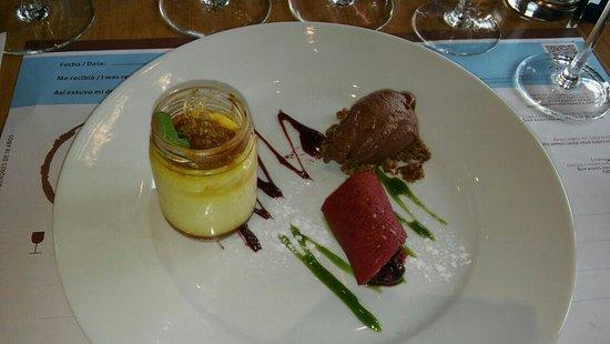 Tunuyan, Argentina: Sublime el menu en pasos! Los vinos y su calidad!!!