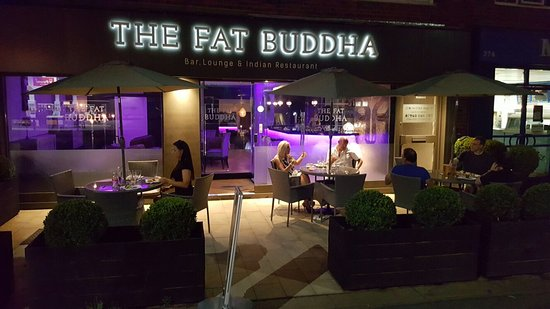 Berkhamsted, UK : The Fat Buddha