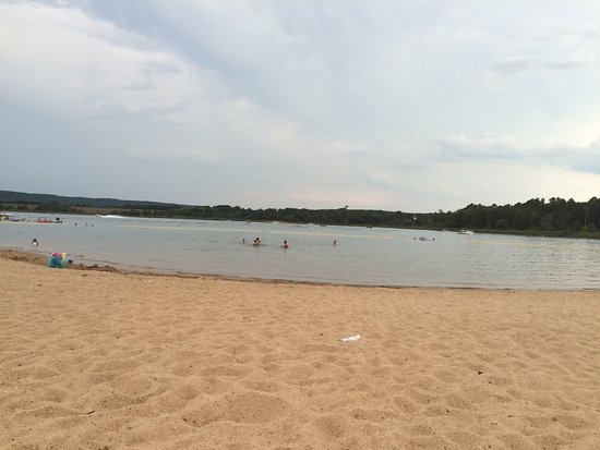 Heber Springs, AR: Sandy Beach
