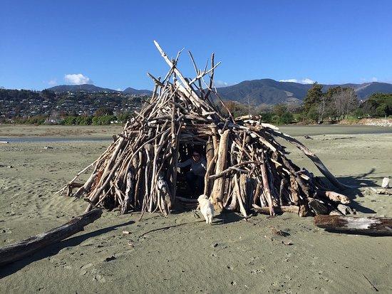 Нельсон, Новая Зеландия: Tahunanui Back Beach hut