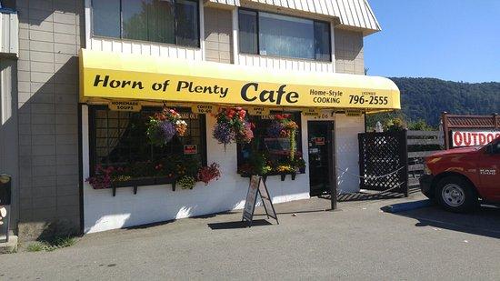 Agassiz, Kanada: Horn of Plenty Cafe
