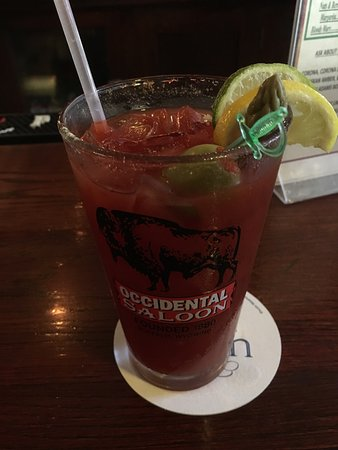 The Occidental Saloon: Bloody Mary