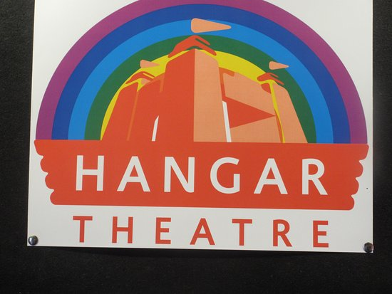 Hangar Theatre: Sign of Theater