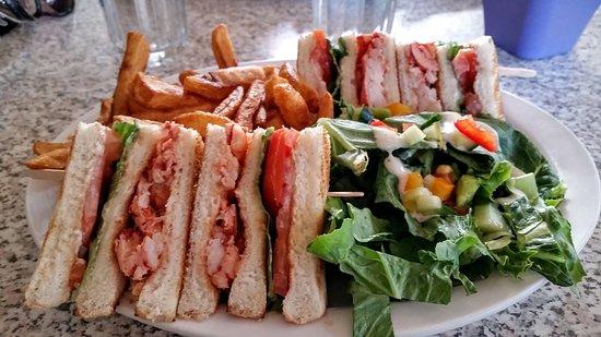 Restaurant Brise Bise: club homard