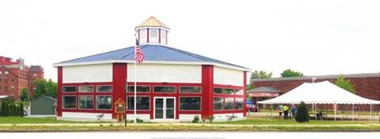 Our carousel building is located on 50 Center Street in Pittsfield, MA.