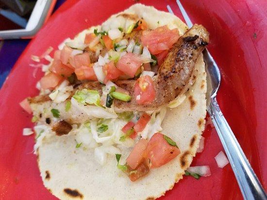 บูลล์เฮดซิตี, อาริโซน่า: Amazing fish taco