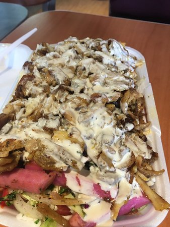 Aurora, Kanada: Shawarma with vagtable
