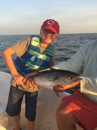 Picture of finatics inshore fishing charters for Mobile alabama fishing charters