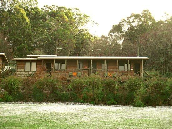 Mole Creek, Australia: Cabins.