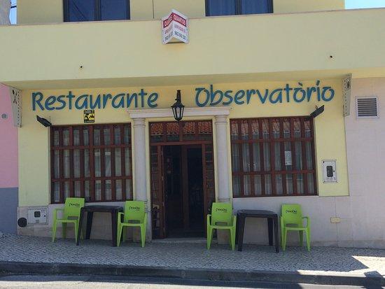 Santa Clara a Velha, Portugal: Restaurant O Observatorio (exterior/front)