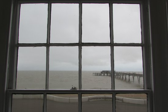 Deal, UK: View from our room, in March.