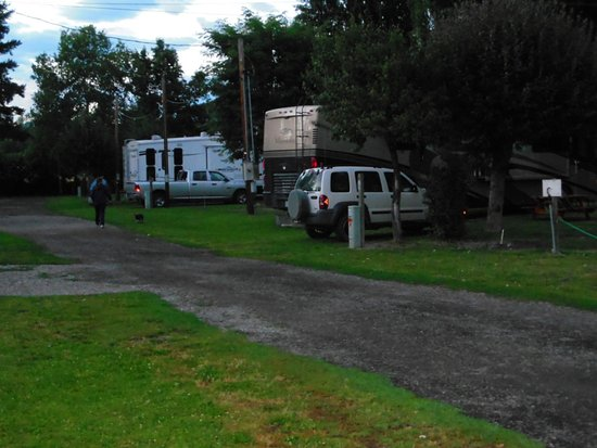 Libby, MT: More spaces - tent camping in another area to the right