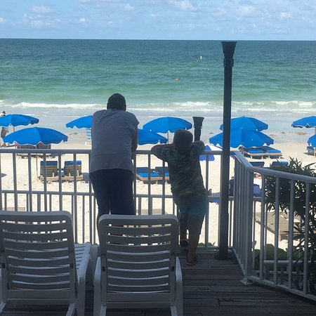 Doubletree Beach Resort by Hilton Tampa Bay / North Redington Beach: One of our favorite beach hotels! Beautiful sunsets, great beach bar, always a great time!  We l