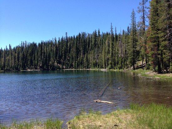 Parc national de Lassen Volcanic, Californie : Echo Lake