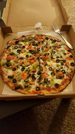Delmar, MD: Gluten free, thin crust, pizza now available in different  styles. Available as a 14in, 8 slice