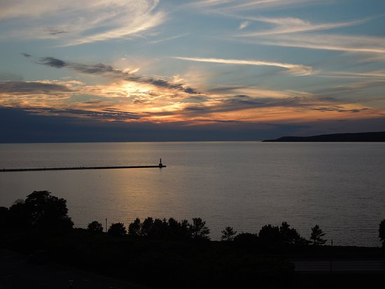 Petoskey, MI: Sunset from our room