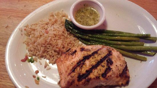 Odessa, تكساس: Fantastic Griled Salmon