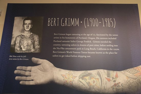 Bremerton, WA: About one of the tattoo artists