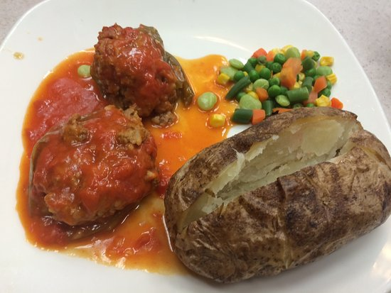 Plymouth, MI: Stuffed pepper