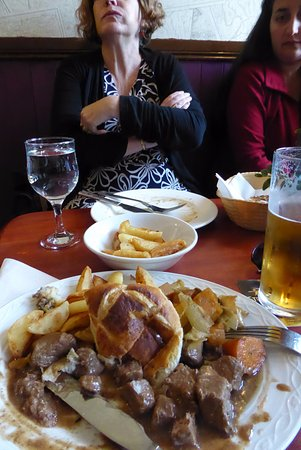 Fort Augustus, UK: Guinness Beef Pie