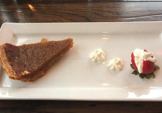 Promenade Cafe and Wine : Maple sugar pie