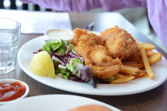 Beauty Point, Αυστραλία: fish & chips