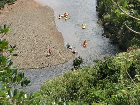 Amami, Japón: カヌーを漕ぐ人