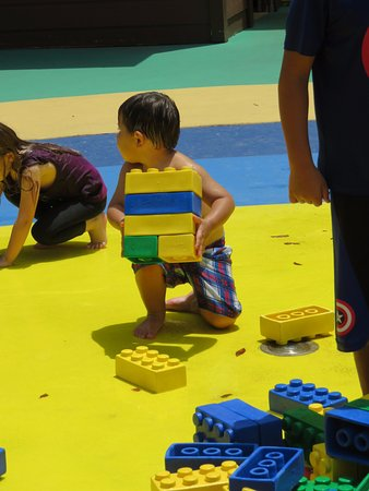 Grapevine, TX: Legos and a waterpark...good option in the summer