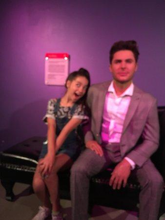 Madame Tussauds Washington D.C.: Jada with John Stamos