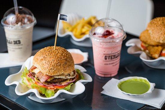 Footscray, Australia: The overloaded burger, sooo tasty and fresh