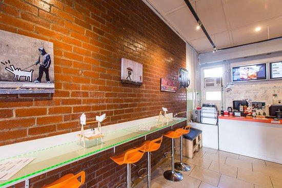 "Footscray, Australia: Inside 'OVERLOADED CAFE"""