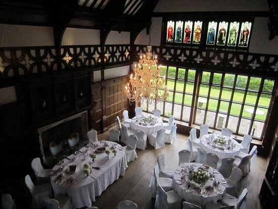 Frankby, UK: Wedding reception dining area