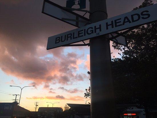 Burleigh Heads, Australia: sunset