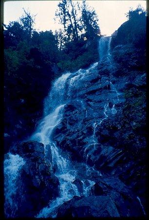 Della Falls: up to the top