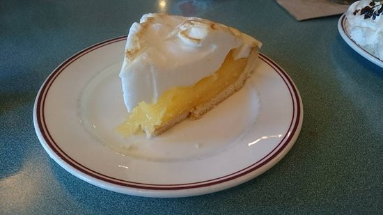 Fort Macleod, Canadá: Lemon merangue pie