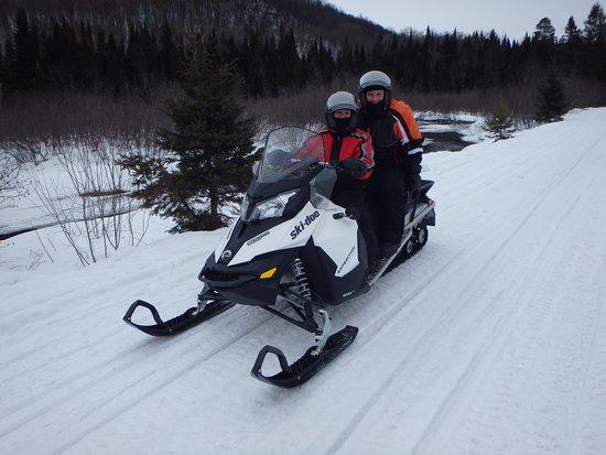 Sainte Agathe des Monts, Canada: Easily accommodates two